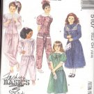 McCalls  pattern 5107     Girls Dress and Jumpsuits-  Size CH 7.-8-10
