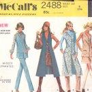 McCalls  pattern 2488  Misses  Separates -  Size 8