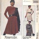 McCalls  pattern  3875 Misses   Dresses -  Size  B (8-10-12)