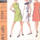 McCalls  pattern 9244  Misses   Dress in two versions -  Size 10