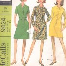 McCalls  pattern 9424  Misses  Dress in three versions-  Size 8