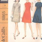 McCalls  pattern 8865  Misses  Dress in three versions -  Size 10
