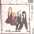 McCalls  pattern 5061    Girls Jacket and vest, skirt and pants-  Size CH 7-8-10