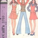 McCalls  pattern 3769 Young Junior/ Teen jumper or top and skirt-  Size 5/6