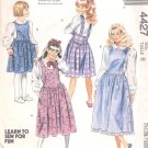 McCalls  pattern  4427   Girls Jumpers-  Size 8