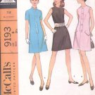 McCalls  pattern 9193  Misses  and Junior dress in three versions -  Size 8