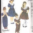 McCalls  pattern 5116  Childrens and Girls Dress, jumpsuit-  Size CL (6-7-8)