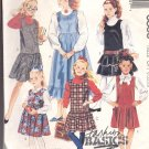 McCalls  pattern 3830   Girls jumpers -  Size  CH (7-8-10)