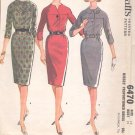 McCalls  pattern 6470  Misses  Proportioned Dress -  Size 12