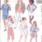 McCalls  pattern 3620  Girls shirt, top, pants, shorts, skirt -  Size  Medium