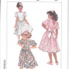 Simplicity pattern 9574 Girls Dress-     Size A- all sizes included