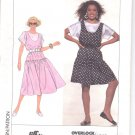 Simplicity pattern 9612  Misses  / Miss Petite Jumper, & top-  Size A- all sizes included