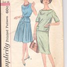 Simplicity pattern 3747  Junior and Misses overblouse and skirt-  Size  12