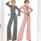 Simplicity pattern 7423   Misses  Jumpsuit and ribbon bag-  Size 10