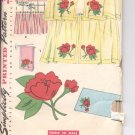 Simplicity pattern 4919 Cafe Curtains-    Size one size