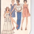 Butterick pattern 3611  Misses  Dress and top - Size 6