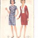 Butterick pattern 4263-  Misses one-piece dress-  Size 10