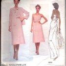 Vogue pattern  1858--  Misses  Jacket, Dress and belt-   Size 8