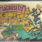Vintage style Decal Sticker- Massachusetts- NOS