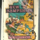 Vintage style Decal Sticker-  New Hampshire- The Granite State - NOS