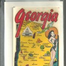 Vintage style Decal Sticker-  Georgia  - NOS