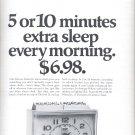 Nov. 13, 1970     Westclox electric Alarm Clock  ad  (#1583)
