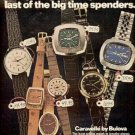1972 Bulova  watch  ad (#  1534)