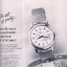 1962  Benrus Watch ad (#  1686)
