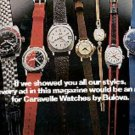 1972  Caravelle watches by Bulova ad (#  1423)