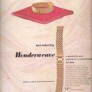June 2, 1947  Jacques Kreisler Wonderweave watch bands   ad (#6246)