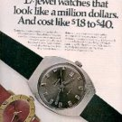 1970  Westclox watches ad (#  3218)