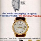 1964 Bulova watch    ad (#5963)