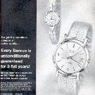 1962  Benrus Watch ad ( # 3008)
