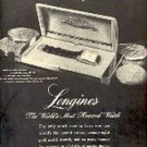 1947  Longines Wittnauer Watch Company ad (# 2821)