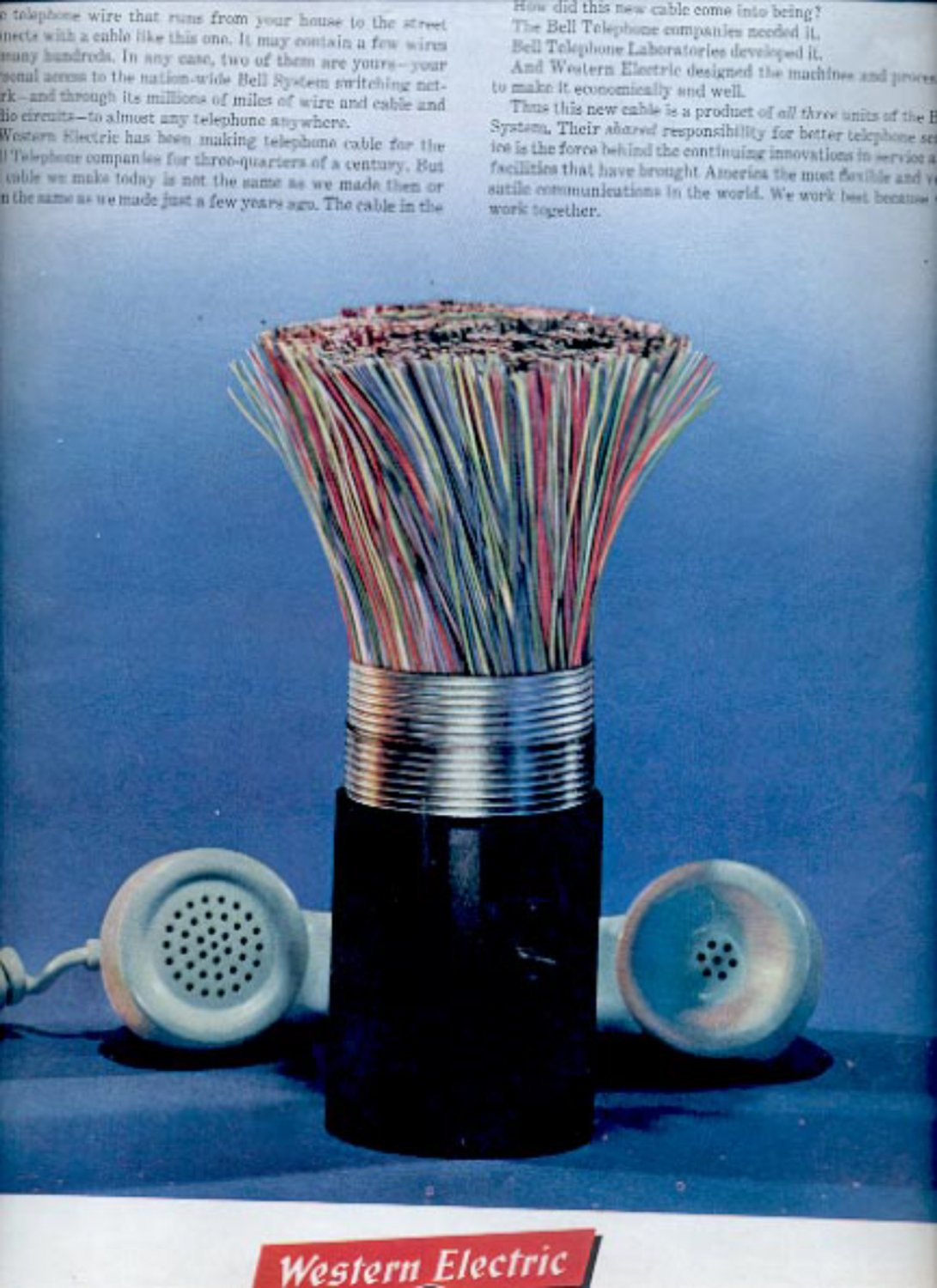 1961 Western Electric Manufacturing and Supply ad (#5413)