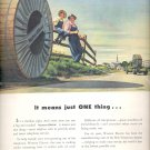 Aug. 9, 1948      Western Electric - a unit of the Bell System       ad  (#3446)