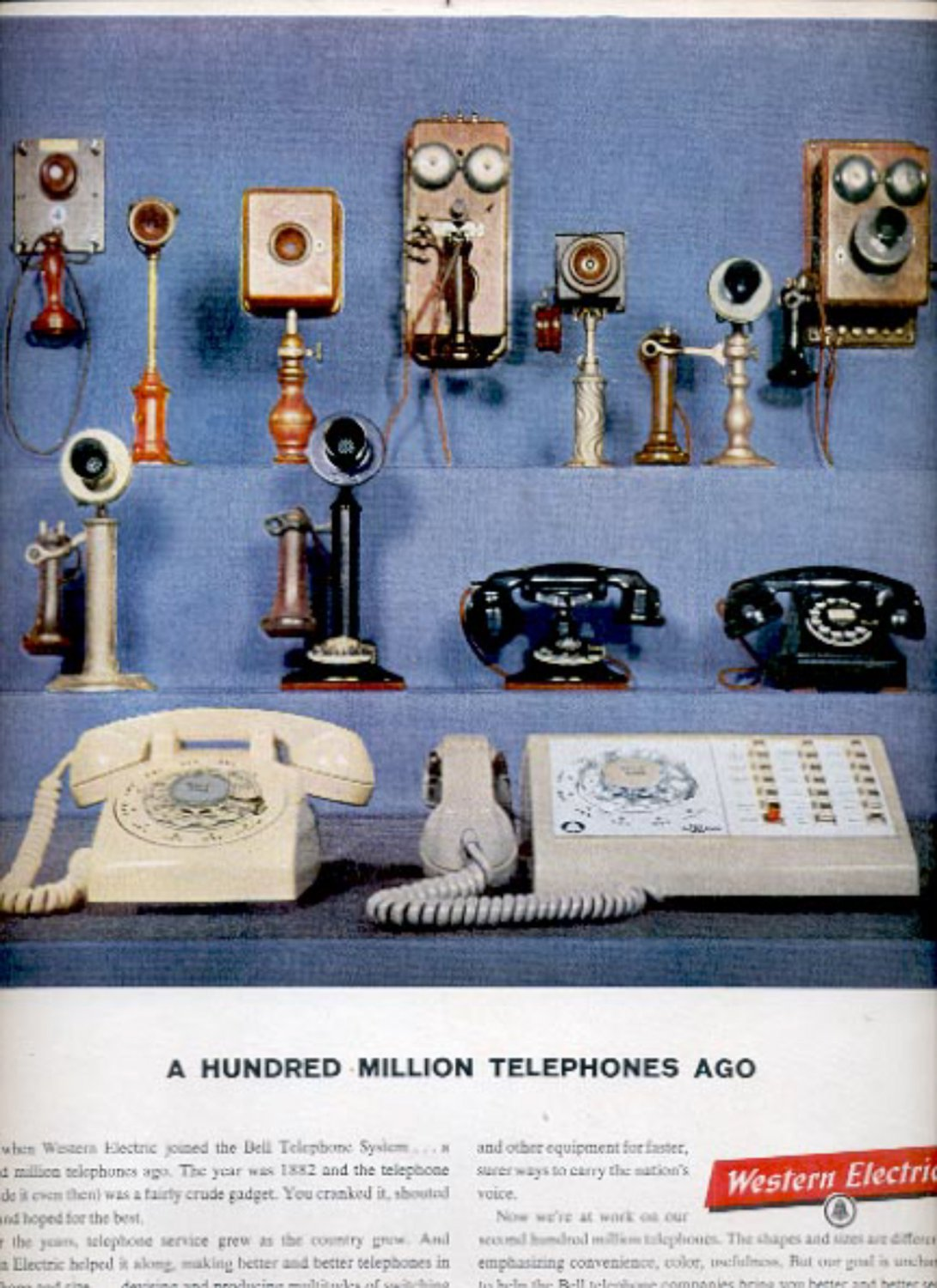 1960  Western Electric Manufacturing and Supply ad (#5422)
