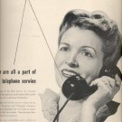 April 28, 1947  Bell Telephone System  ad (#6124)