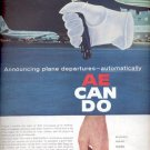 1961  Automatic electric  subsidiary of General Telephone & Electronics  ad (#4289)