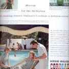 1960 Hiram Walker's Cordials    ad (#5695)