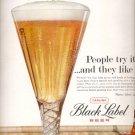 1960  Carling Black Label Beer  ad (#5368)
