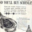 1949   Schenley Reserve Blended Whiskey ad (# 1636)