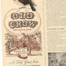 1945 Old Crow ad (# 1977)