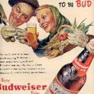 1953  Budweiser Beer ad ( #1861)