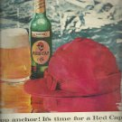 1959  Carling Red Cap Ale ad (# 3274)