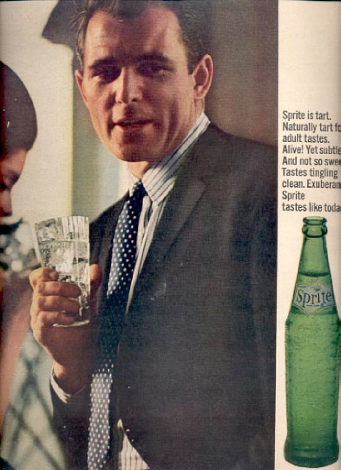 1964     Sprite- A product of The Coca- Cola Company  ad (# 4847)