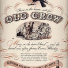 Jan. 6, 1947    Old Crow Whiskey         ad  (#6343)