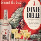 Dec. 8,1947   Dixie Bell Distilled Gin      ad  (#6354)