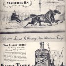Oct. 18, 1937  Early Times Whisky     ad  (#6570)