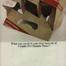 1964  Canada Dry Quinine Water ad (# 589)